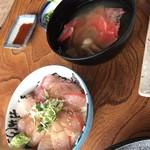 ぼら納屋 - 金目鯛丼