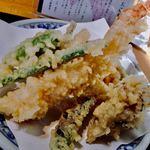 94757658 - 海老と季節の天ぷら