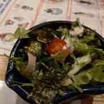 元祖北海魚串 がりや - 「多摩」まっしぐら!スタートは生鰹節サラダだニャー!