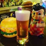 MKYアメリカンレストラン - ドリンク写真:クリィミーな泡の生ビール!美味しいと評判です!