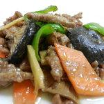 中国料理 大中華 - 牛肉のオイスターソース炒め
