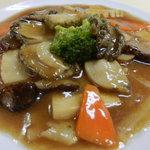 中国料理 大中華 - アワビの醤油煮込み