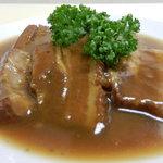 中国料理 大中華 - 豚角煮