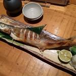 魚真 - カマスの塩焼き