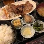 めしや ちゃんちゃん - 料理写真:♪生姜焼き定食¥700