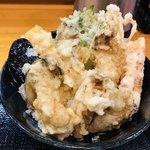 94762066 - 牡蠣天丼 1,400円