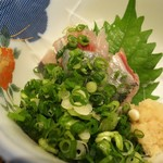 いわし料理 善 - 料理写真:刺身(いわしのフルコース)