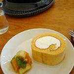94764999 - 美味しいロールケーキ、自家製ですよ!!