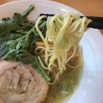 いいづか - 塩らーめん 麺リフト