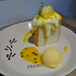 PEANUTS Cafe - 「ウッドストックのエンジェルフードケーキ」