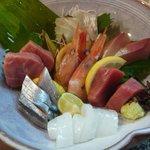 魚彩 なかもと - 刺身盛り合わせ