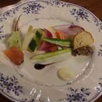 メゾンドブラン - 料理写真:前菜