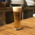 地鶏KING - 生ビール