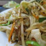 美食小屋 - 野菜炒め ※日替り定食