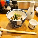 みつぼ - 菊菜おひたし & 冷酒