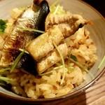 片倉うに屋 - 秋刀魚の炊き込みご飯