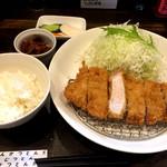 94777615 - ロースカツ定食