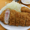 tonkatsuyamabe - 料理写真:上ロースカキフライ2個
