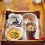 日本料理 岩戸 - お通し