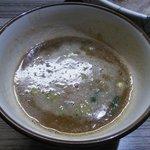 麺や輝の穴 - つけ汁