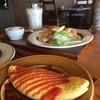 カフェ&デリ オッキアーリ - 料理写真:ドリンク代のみのモーニング。オムレツはプラス料金(2018.10.現在)
