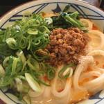 丸亀製麺 - うま辛担々うどん650円