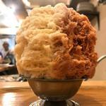 食堂 八 - セットかき氷(チャイミルク)