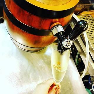 ★〈10月31日〉スパークリングワインと牡蠣
