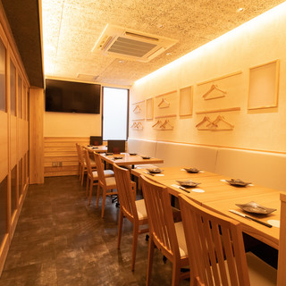 ■心地良い空間、個室も完備(宴会・お食事に最適)