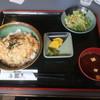 多つ美 - 料理写真:チキンカツ丼セット