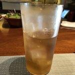 創作フレンチ鉄板Hanasaki - ウーロン茶