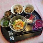 あんず茶屋  - 料理写真:「あんず茶屋ランチ」の前菜