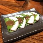 居酒茶屋 鑪 - 大葉と梅肉のスモークチキン