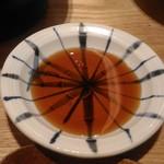 くずし割烹 白金魚 - 濃くない醤油はうれしい