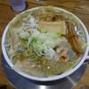 Chuukasobahirakoyakiboshi - 料理写真:焼干わんたんそば(中)850円・・ネギだくにしました~