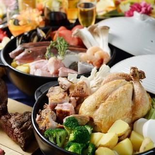 【歓送迎会】◆飲み放2時間付き!トレンドもつ鍋ご用意