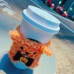 スターバックス コーヒー - ベンティサイズ(スリーブはタリーズのくまです、すみません)