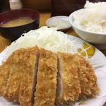 とんかつ山家 - 料理写真:ロースかつ