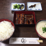 94810712 - うなぎ定食(オープン状態)