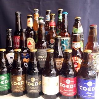 ビアソムリエが選んだ30種類のクラフトビール