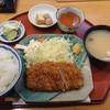 Hyakumangoku - 料理写真:とんかつ定食¥800-