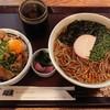 麺工房 門左衛門 麺. 串 - 料理写真:かけそばと丼のセット¥995-