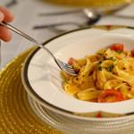 リストランテ・ベニーレベニーレ - グランキオ ずわい蟹の濃厚トマトクリームソース いわて小麦のパスタフレスカ