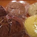 一恵庵 ロバのパン工房 - 蒸しパン(5種類)