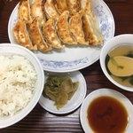 94817781 - 餃子W定食 (´∀`)/