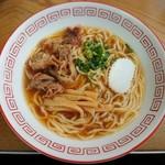 佐久間食堂 - 料理写真:中華そば(並)♪見た瞬間、美味しく感じました(笑)