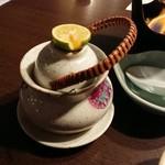 みや離宮 - 鱧と松茸の土瓶蒸し