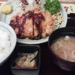 9482379 - とんかつ定食(¥700)