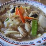 9482638 - 豚肉と野菜のタンメン(醤油味)