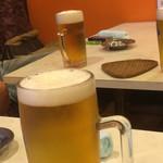 水舟 - ドリンク写真:乾杯ビール